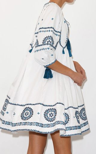 Embroidered Indian Peasant Dress by TALITHA for Preorder on Moda Operandi