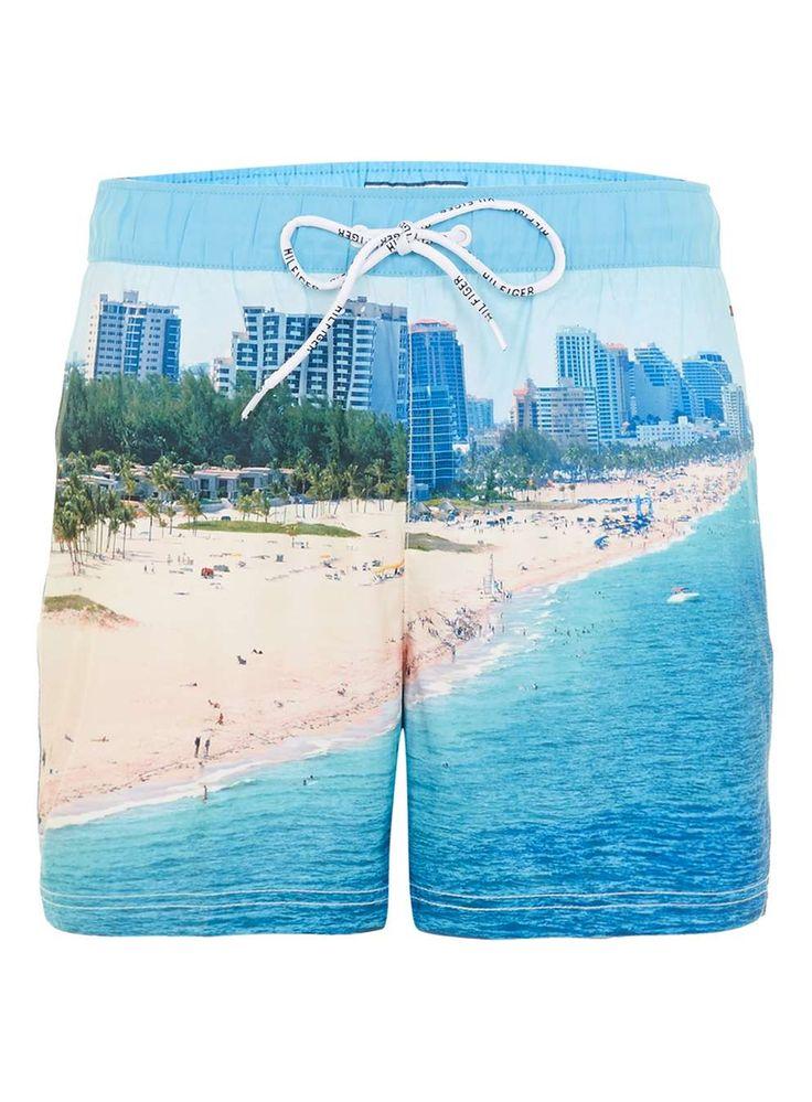 Hilfiger Denim Beach Print Swim Shorts