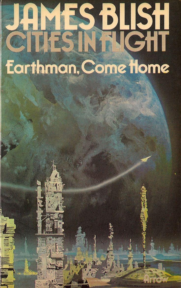 James Blish  Earthmane Home With Chris Foss Cover!