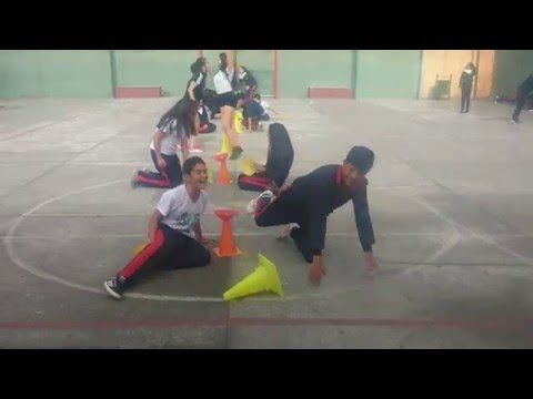 Physical Education Games - 4-Sqaure Volleyball - YouTube