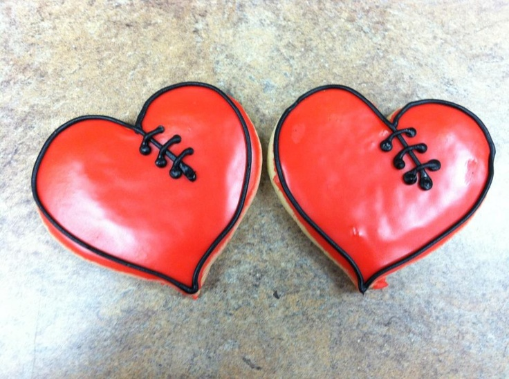 """CHD Cookies for your Heart Hero!  """"Favors"""" to take home from 1st bday party and enjoy on 7/15"""