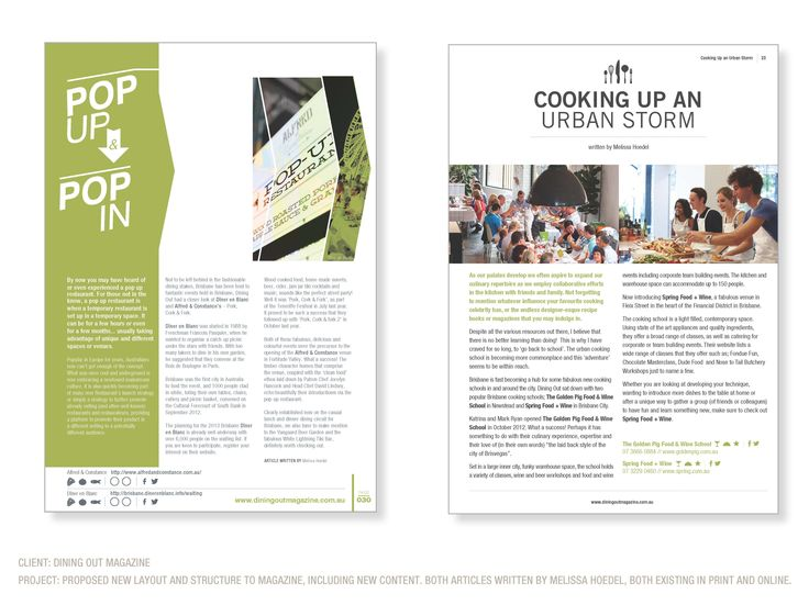 Taybian Design worked with the Dining Out Magazine in a Business Development and Sales capacity. We also proposed new content in the print magazine as well as new layout, user key/guidelines and style guide. We also wrote articles for the magazine and blogs. http://www.diningoutmagazine.com.au/category/blog/ #styleguide #branding #businessdevelopment #magazine #magazinelayout #dining #diningout #diningoutmagazine #taybiandesign #blog #articles
