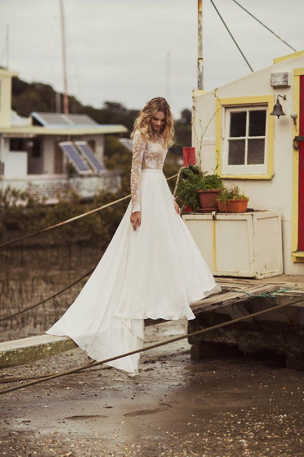 'Nomadic Love' by Rue De Seine: Beautiful Boho Wedding Dresses!