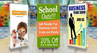 BannerBuzz : Trade Show Banners: Grow Your Business with Custom Trade Show Banners in Lowest cost $0.99/SF with Free Shipping at Bannerbuzz.com