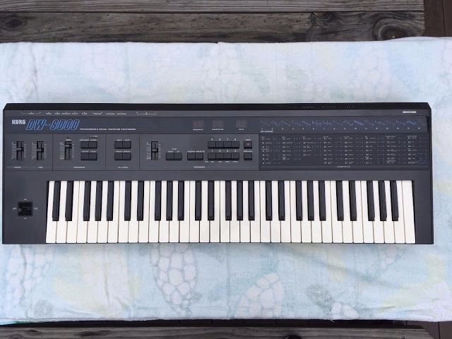 MATRIXSYNTH: Korg DW-8000 Programmable Digital Waveform Synthes...