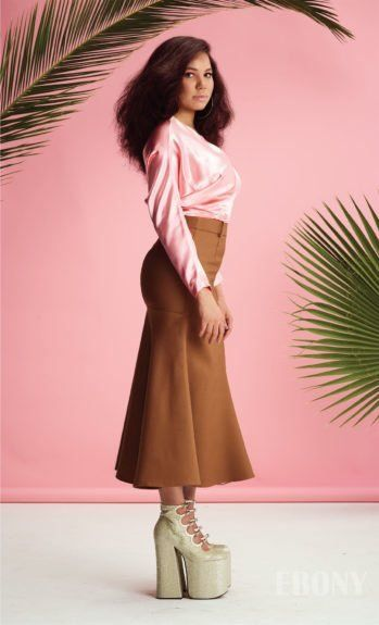 [Pics] Newly Thick After Pregnancy, Jurnee Smollett Bell Stuns in 60s-Inspired Ebony Mag Spread | Black Girl with Long Hair