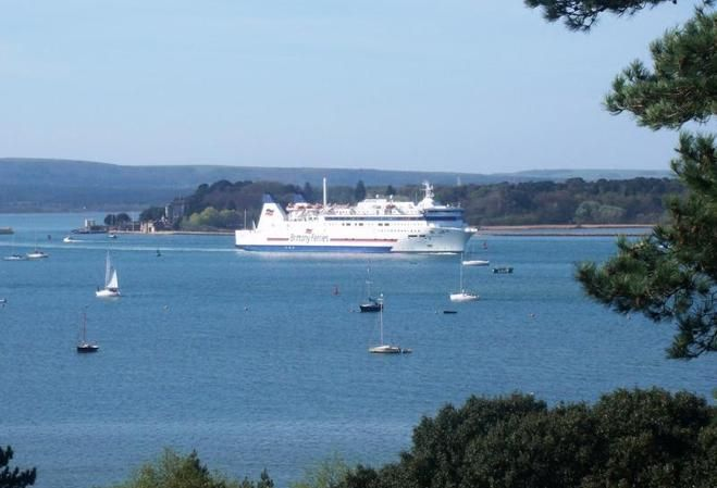 Coastal homes with views of Poole Harbour.