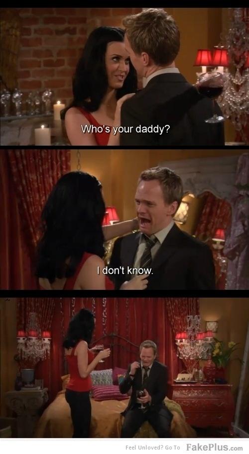 Quem é o seu papai? Eu não sei