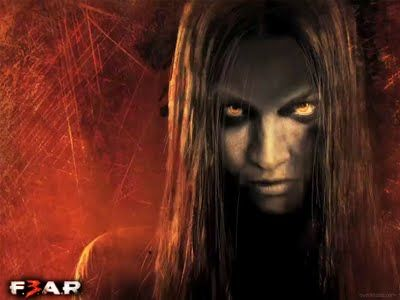 Alma as an adult in video game F.E.A.R