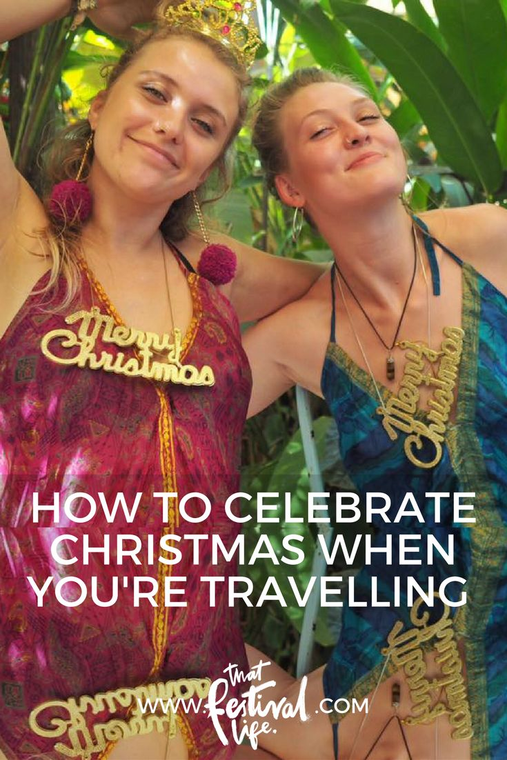 How to celebrate Christmas when you're travelling! My first Christmas in Goa.