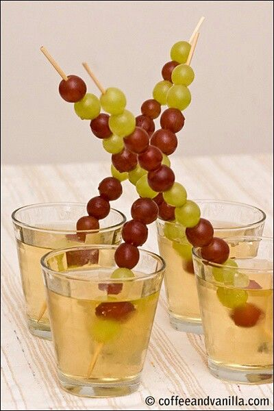 "Great idea for New Year's 12 grapes! ""las doce uvas:"" beginning at midnight, everyone must eat 12 grapes- one at a time with each of the 12 chimes of the clock. Each grape represents a wish"