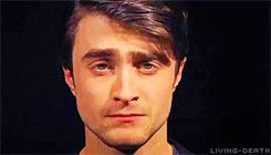 That time he taught us the basics of acting. | 25 Times The Internet Fell In Love With Daniel Radcliffe