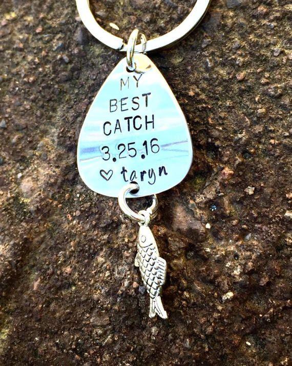 Fishing Keychain Fishing Boyfriend Gift Fishing Lure