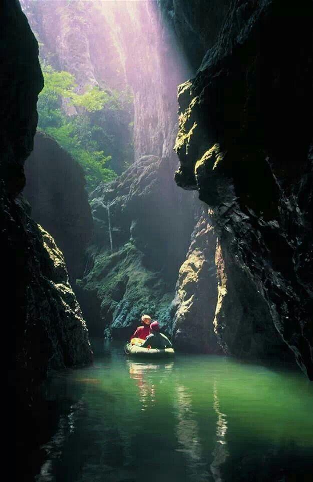 Topolnita cave,  Mehedinti mountains,  Romania