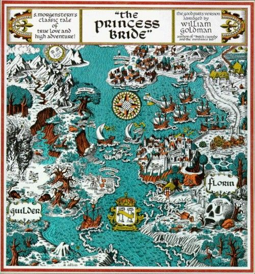 Too damned cool... What are the maps we get introduced to as kids that lead us deeper into geekdom? :)