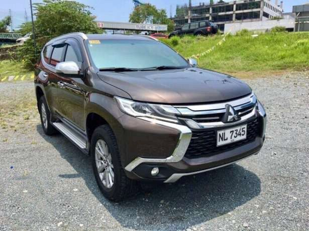 Almost Brand New 2016 Mitsubishi Montero Sport GLS Premium Paddle Shifters Push Start Leather Seats 8700 Kms. Only Bank Finance OK Trade In Accepted Call 09175287233 for more info or click Photo for price #mitsubishi #monterosport #outlander  #montero #carsforsaleph#autotradephils Please LIKE, LOVE and SHARE this For Sale SUV .. Thank You