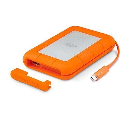 Lacie Rugged 2tb Thunderbolt And Usb 3 0 Portable Hard Drive Lac9000489 Lacie Usb Hard Disk Drive Portable External Hard Drive