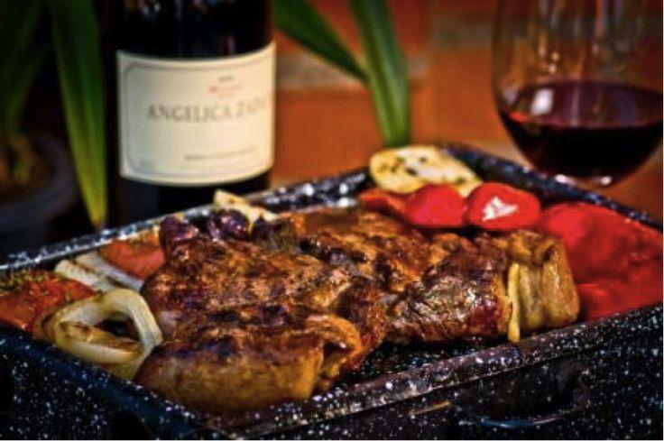 Dining in Bariloche