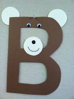 B is for Bear library storytime - books, songs, rhymes, and craft