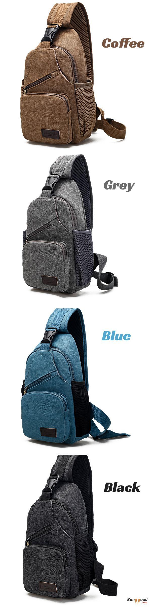 US$16.99 + Free shipping. #FlashDeal: 6 Days Remained. Casual Bag, Multifunctional Bag, Canvas Bag, Multi-pocket Bag, iPad Bag, Phone Bag, Storage Bag, Chest Bag. Material: Canvas. Color: Black, Coffee,  Khaki, Grey, Blue.