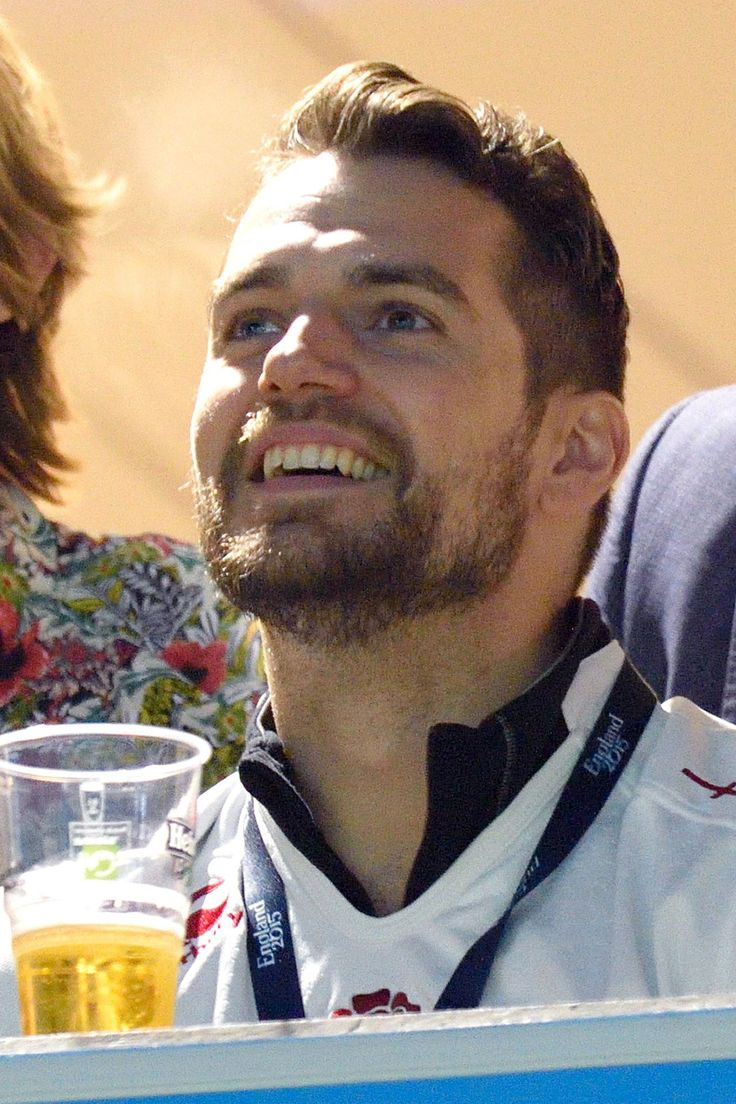 October 3 Superman actor Henry Cavill watches Australia play England in the Rugby World Cup at Twickenham. The hosts lost the match 33-13 knocking them out of the competition.