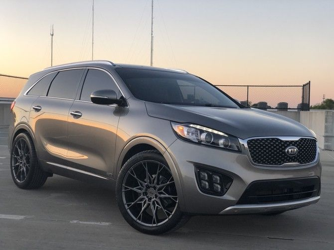 Sosodefff S 2016 Kia Sorento Sxl V6 With 275 40r22 Michelin Pilot