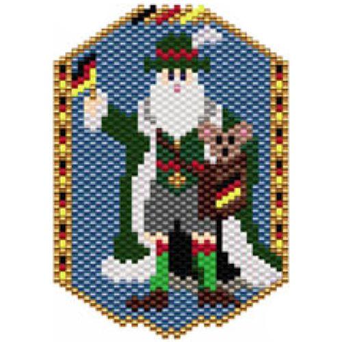 Santas of the World: Germany   Bead-Patterns