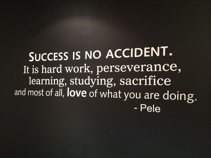 Success is no accident! It takes a lot of hard work. - Whit's BlogWhit's Blog