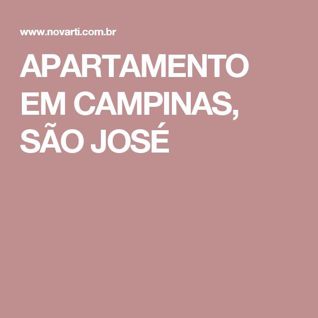 APARTAMENTO EM CAMPINAS, SÃO JOSÉ