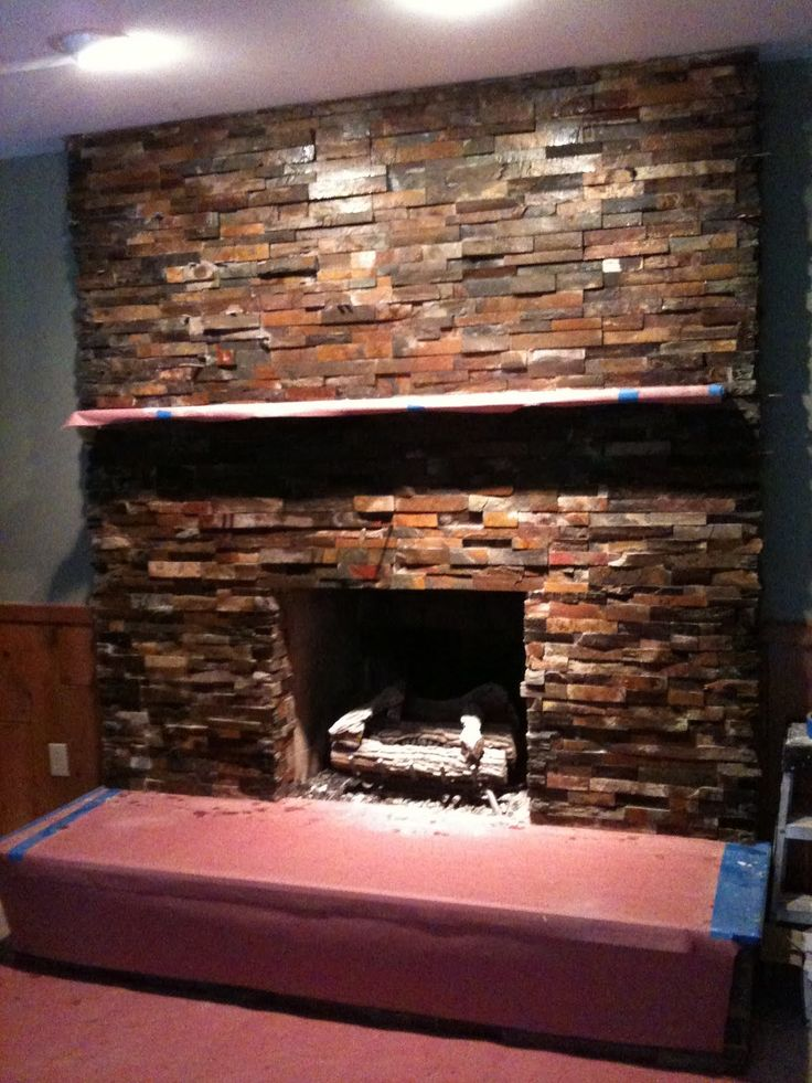 fireplace slate. stacked slate fireplaces  stone fireplace 14 best images on Pinterest Fireplace surrounds Slate
