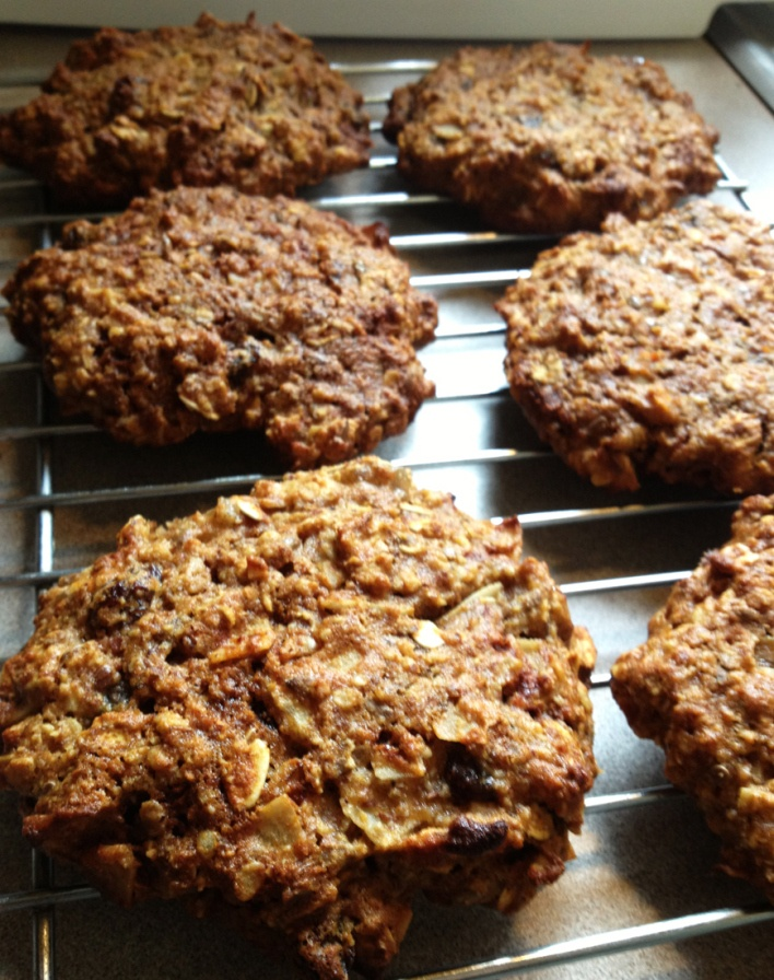 GF Healthy Pumpkin Cookies