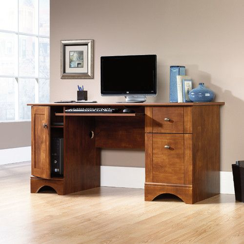 Sauder Computer Desk, Brushed Maple Finish U2013 Home Accessories