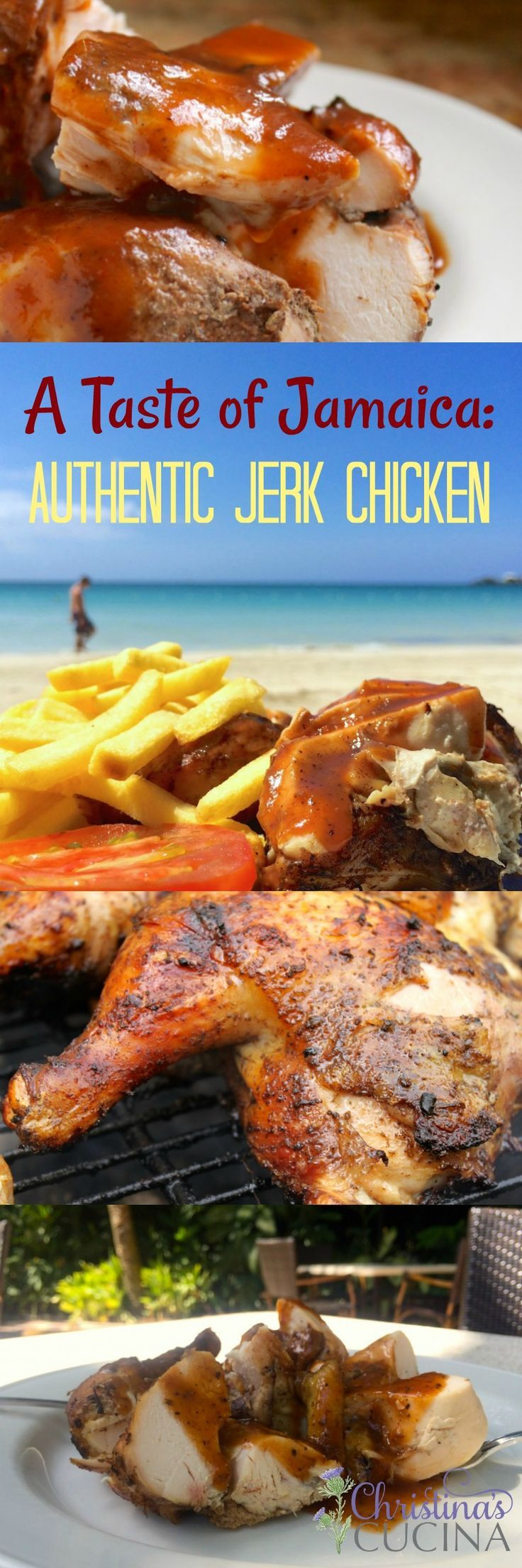 Authentic Jerk Chicken recipe from Chef Dwight Morris.