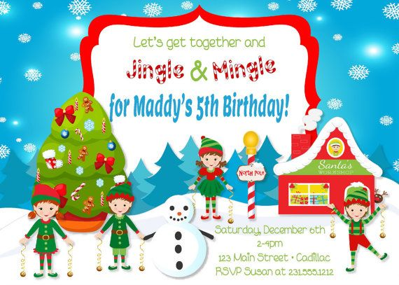 66 best images about FabPartyPrints Fabulous Party Invitations – Kids Christmas Party Invitations