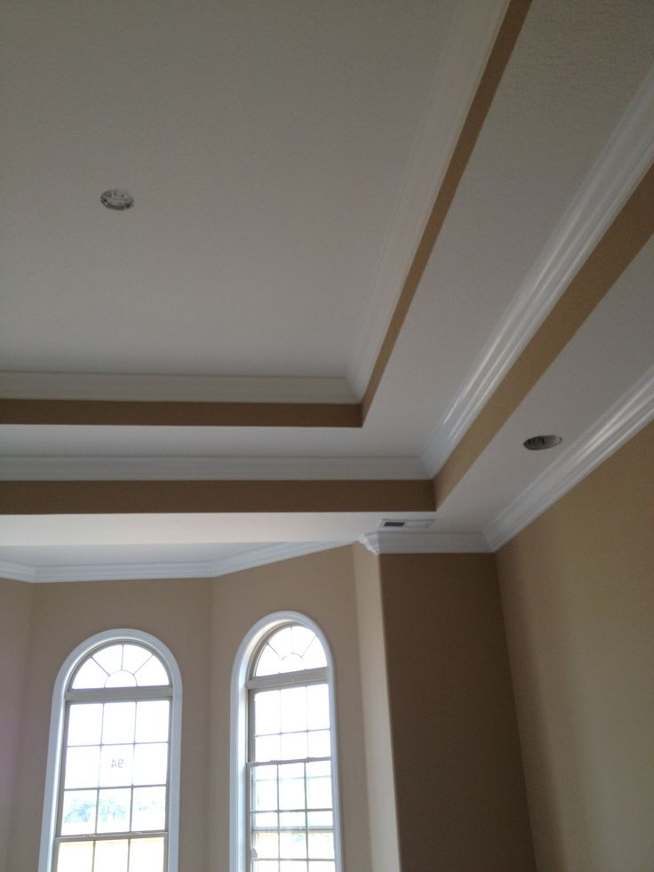 Double Tray Ceilings In Master Bedroom To Date Progress 10 14 2013 Our Home Pinterest