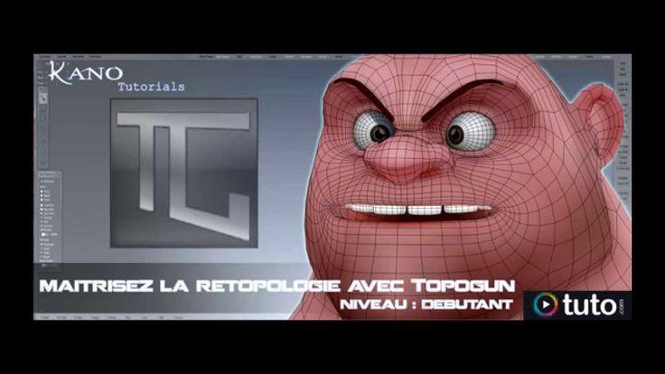 Teaser : tuto retopologie dans Topogun