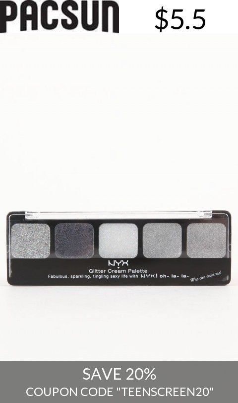 Save With Us! - Womens Nyx Los Angeles Scarves - Nyx Los Angeles Glitter Cream Palette