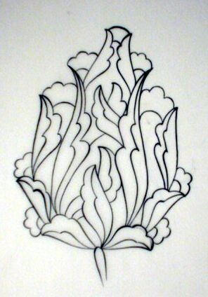 Tulip in islamic style