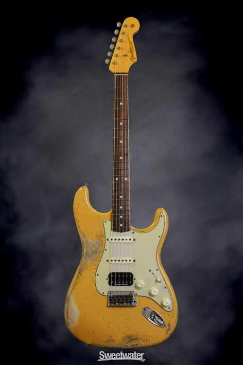 Fender Custom Shop Sweetwater Mod Squad '62 Stratocaster - Butterscotch, Hvy Relic | Sweetwater.com