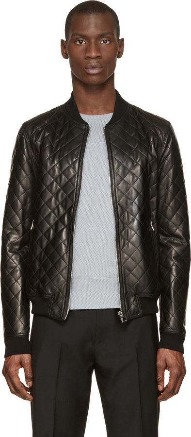 1000  ideas about Leather Bomber Jackets on Pinterest | Men&39s
