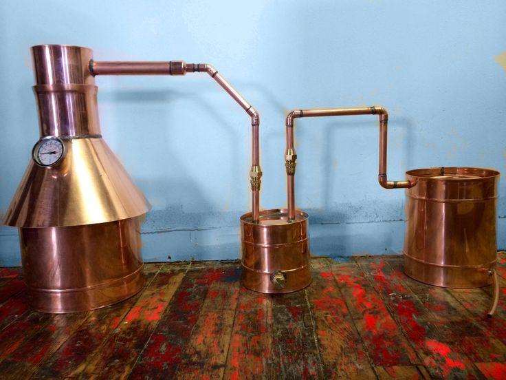 2 Gallon Copper Moonshine / Liquor Distillation Unit w/ Lifetime Warranty (100% Complete Ready to Use)For sale, Order Now