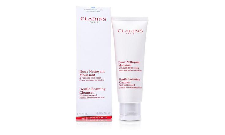 Clarins Gentle Foaming Cleanser With Cottonseed 125Ml/4.4Oz $23.99  #cleanser #cotton #giveaway #win #contest #facial #neem #beauty #fashion #skincare #skin #amazon #shopping #apple #orange #antiaging #cayenne #celery #smoothie #moisturiser #today #love #time #christmas #video #gift #hair #holiday #makeup #year #face #body #women #thanks #chance #life #winter #health #girl #team #work #mask #man #season #tips #store #review #cosmetics #prize #game #fragrance #dress #mac #shirt #mens #winner…