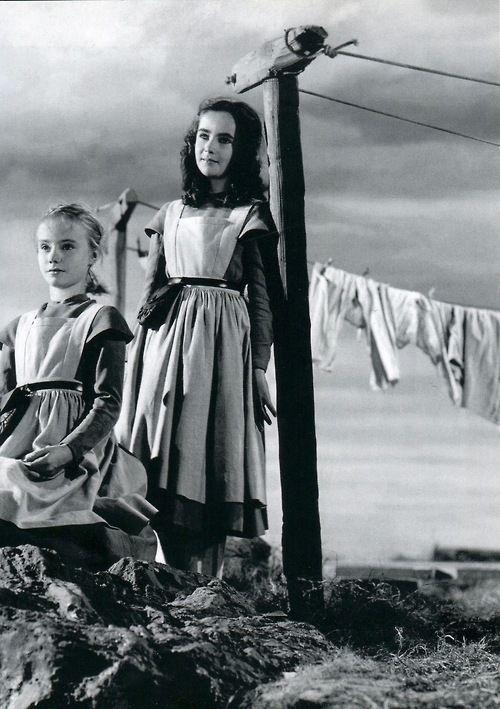Peggy Ann Garner fou Jane Eyre i Elizabeth Taylor, Helen Burns a 'Jane Eyre', 20Th Century Fox, dirigida per Robert Stevenson, 1944