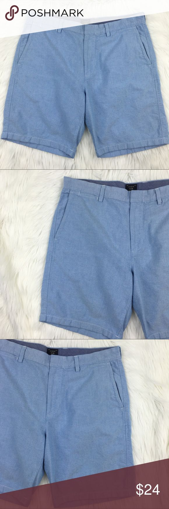 J. Crew club shorts Sz 34 J. Crew club shorts Sz 34. Gently worn in great condition. J. Crew Shorts Flat Front