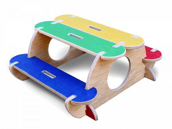 High Quality Bilderhoos: Toddler Picnic Table