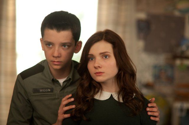 Abigail Breslin & Asa Butterfield in Ender's Game. You would not believe how perfect the casting was for this movie! These two were absolutely fantastic!