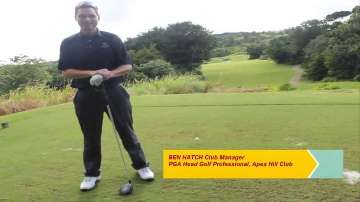 #Golf Tips: How to play the 13th hole at the Apes Hill Club #Barbados