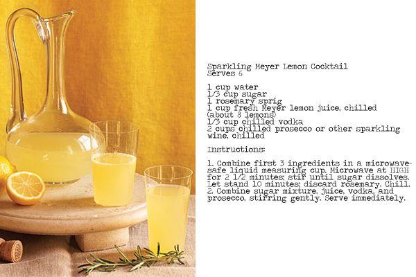 Nothing like fresh lemons!