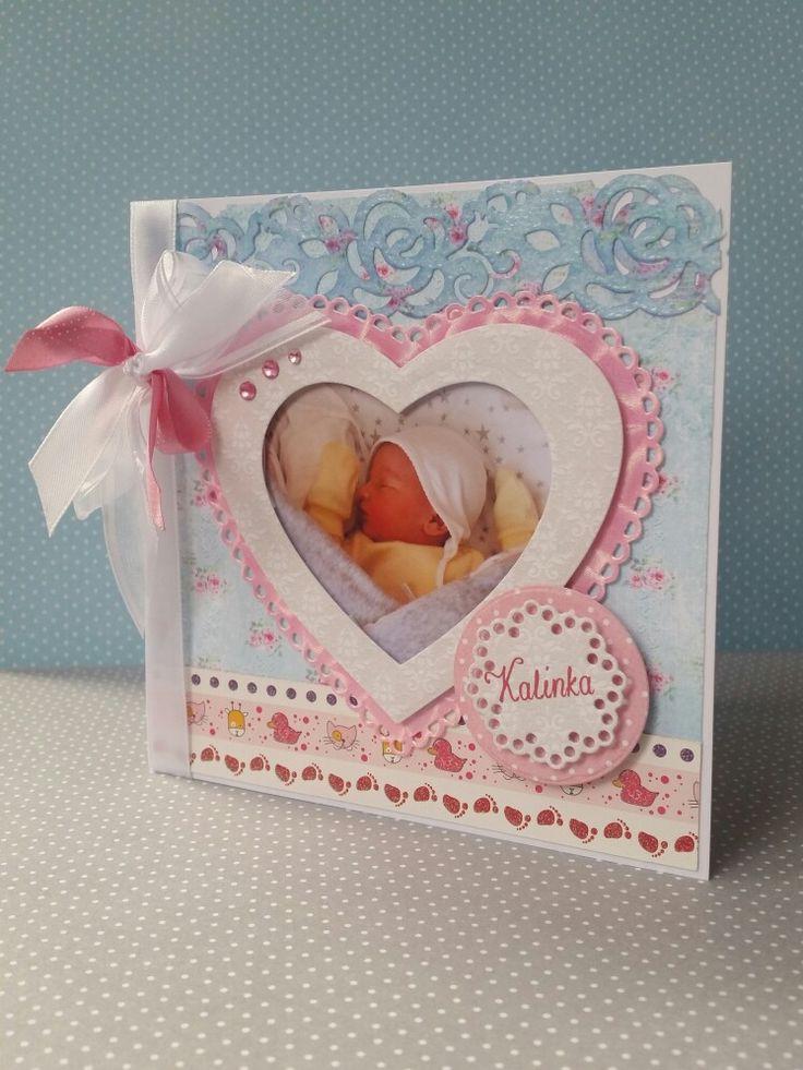 kartka dla noworodka