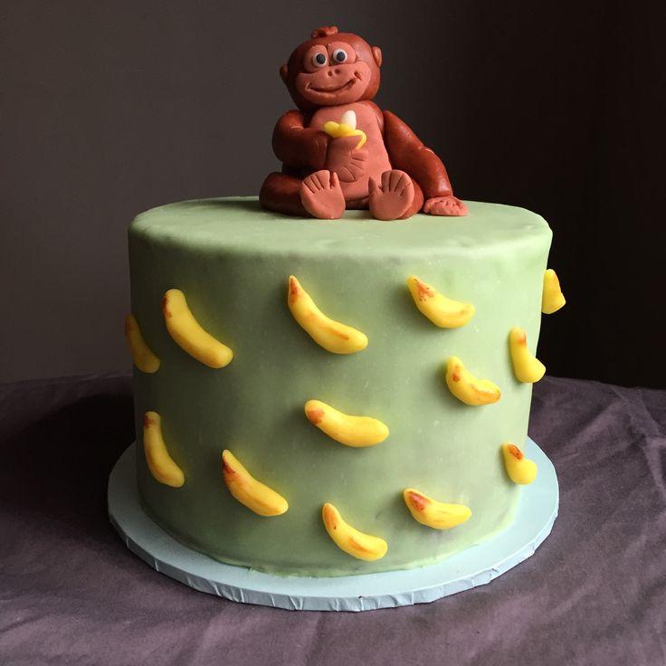 Monkey birthday cake ideas